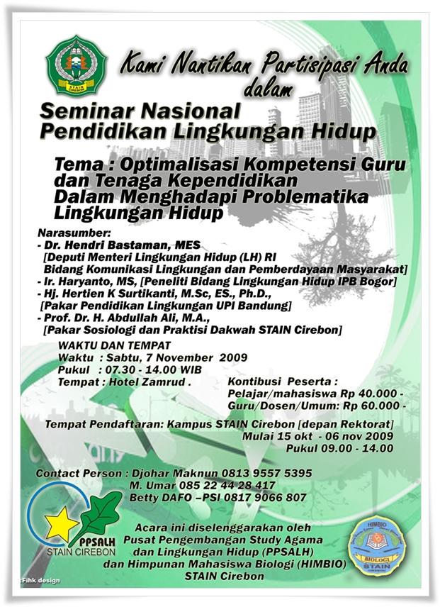 pamflet seminar nasional anak biologi