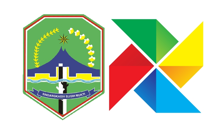 Logo #kolecer mengacu pada warna pada logo kabupaten majalengka